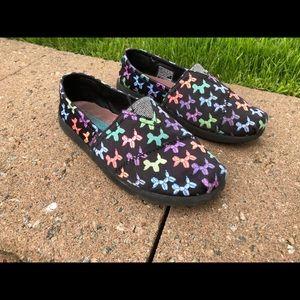 Little girls shoes Sketchers memory foam